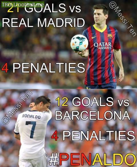 Messi 2014 Clasico Messi vs Ronaldo 'el Clasico