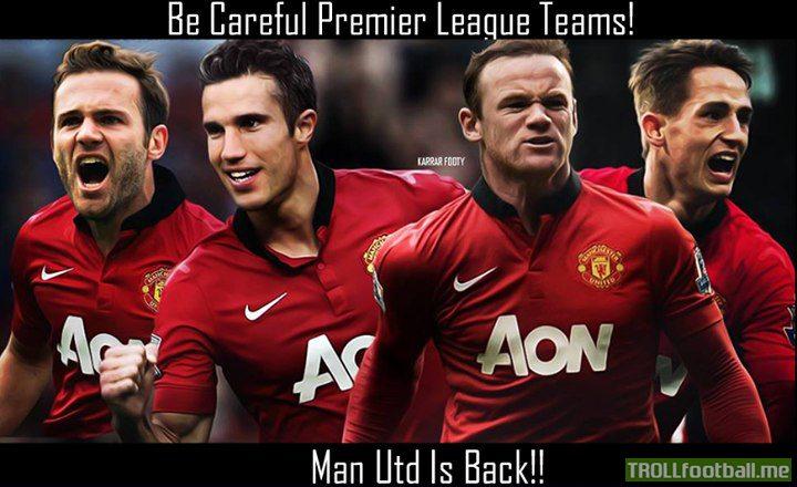 Persie Rooney Mata Rooney Van Persie And