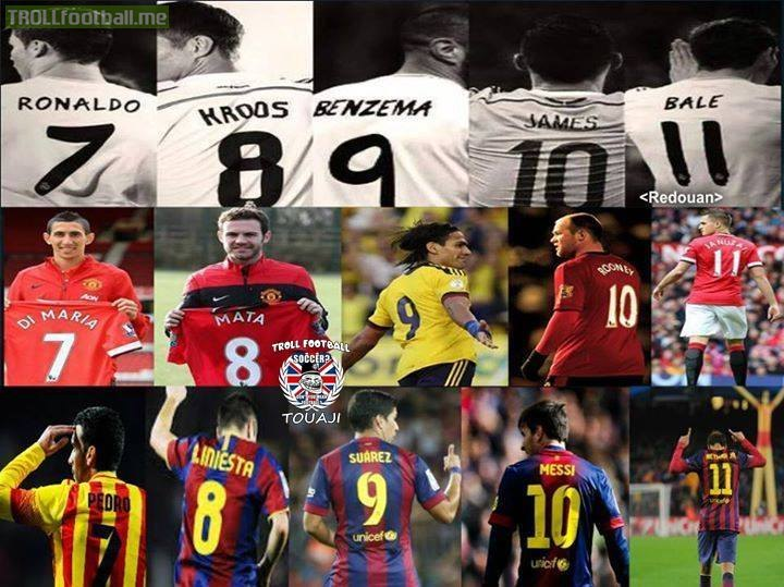 Chelsea Vs Manchester United Vs Fc Barcelona: That Squad ... Real Madrid Vs Manchester United Vs FC
