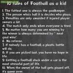 Football As A Kid