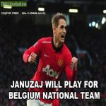 OFFICIAL: National manager Marc Wilmots has announced that Adnan Januzaj has chosen to play for Belgium.