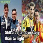 Casillas and Xavi