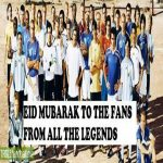 EID MUBARAK TO ALL THE FANS