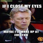 Moyesie missing Everton ?