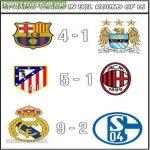 Spanish teams in CL