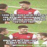 Giroud vs Wilshere