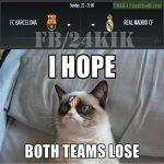 Atletico Madrid Fans Be Like: