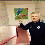 Carlo Ancelotti at Anfield