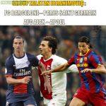 UEFA Champions League Group F = Zlatan's group
