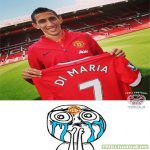 Manchester United Fans after Di Maria getting the #7
