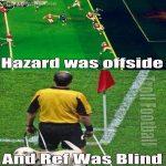 It's not ref fault, poor guy was blind :/