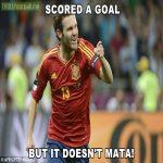 Mata scores ... but it doesn't MATA