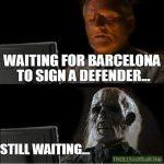 Barca fans be like..