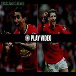 Di Maria's First goal vs Cristiano Ronaldo's First for Manchester United