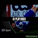 Bristol Rovers' Matt Taylor pulls out 'The Worm' to celebrate his goal