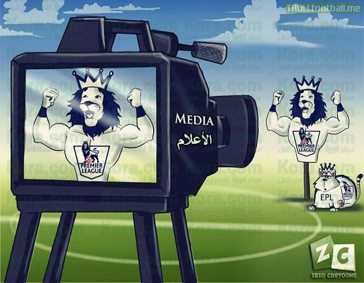 How the media portrays The Premier League