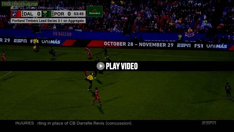 Fernando adi goal vs fc dallas 0 1 mls cup playoffs - Adi san fernando ...
