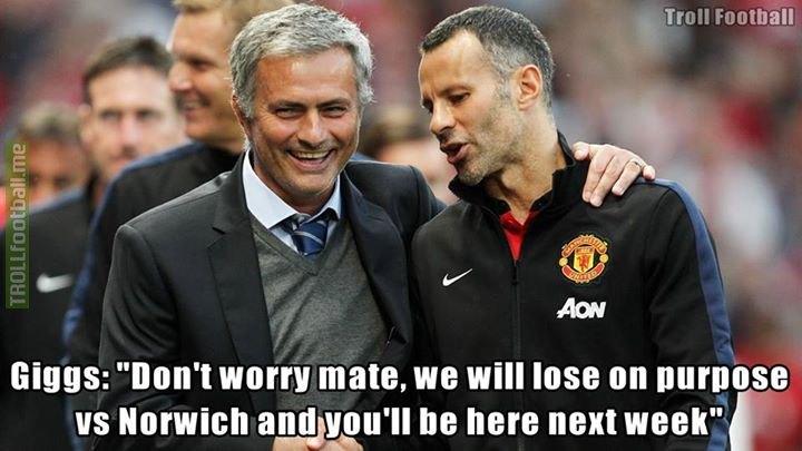 Ryan Giggs to Mourinho