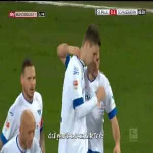 Nicklas Helenius Goal - St. Pauli 0-1 Paderborn