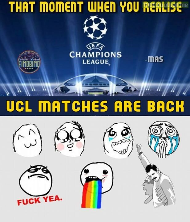 Ucl matches today❤