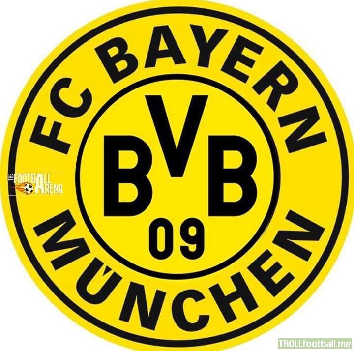Bayern Munchen's new logo.