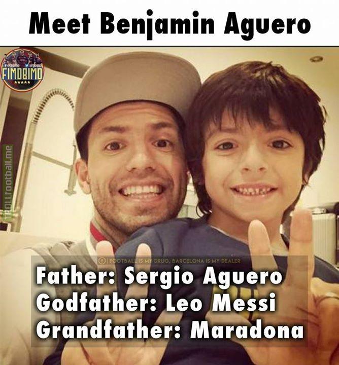 Meet Benjamin Aguero.