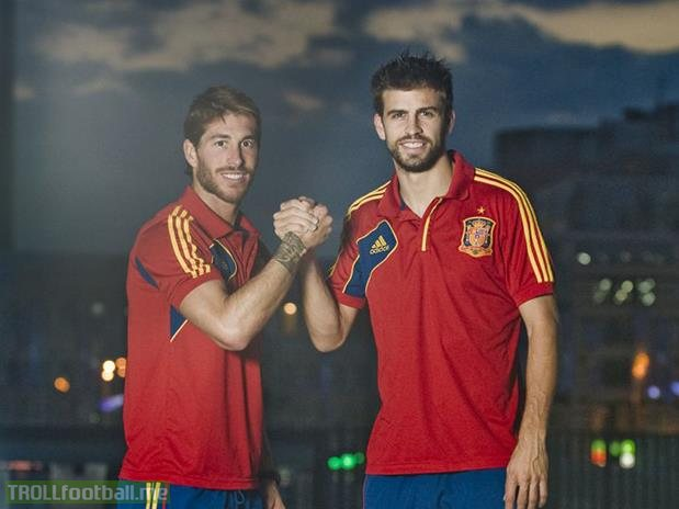 ¿Cuánto mide Sergio Ramos? - Altura - Real height Pique-and-ramos-what-a-partnership