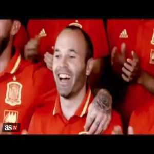 Spain's song for the Euro 2016 (teaser)