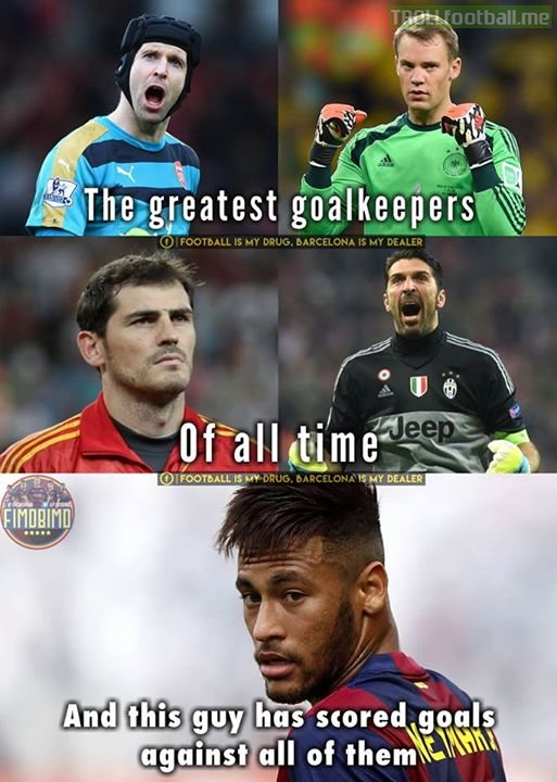 Neymar Jr Troll Football