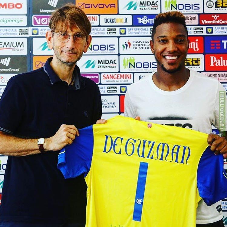 De #1 been  midfielder, Guzman, Jonathan given the has