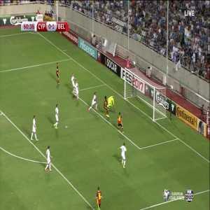 R. Lukaku scores against Cyprus (0-2)