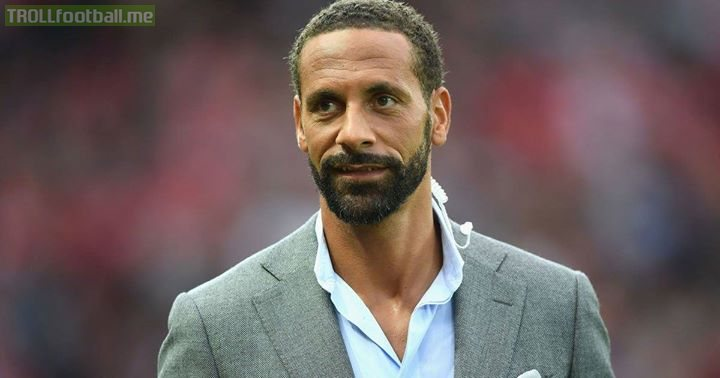 Rio Ferdinand has threatened EA Sports for his low FIFA 17 rating.