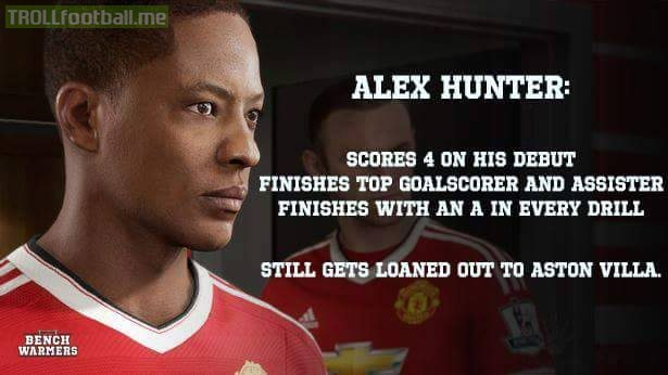 Alex Hunter on FIFA 17...