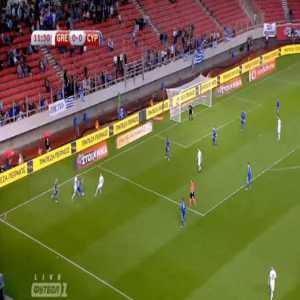 Konstantinos Mitroglou (Greece) goal against Cyprus (1-0)