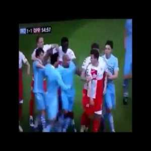 I present to you the Icelandic commentator who rose to fame in Iceland's last minute victory at the European Championships, commenting on Joey Barton's red card during the the City vs QPR game few years back (with english CC)