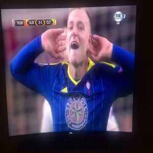 John Guidetti Celta Vigo Shouting Feyenoord Feyenoord After His
