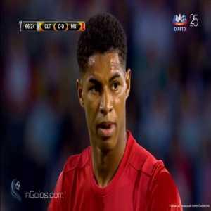 Celta Vigo 0-1 Manchester United - Rashford 67' (Freekick)