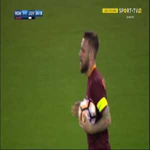 D. De Rossi goal (Roma 1 - 1 Juventus) 24'