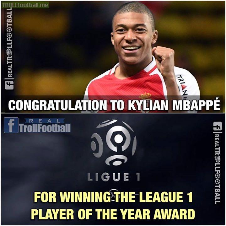 Congratulation Kylian Mbappé 👏❤️