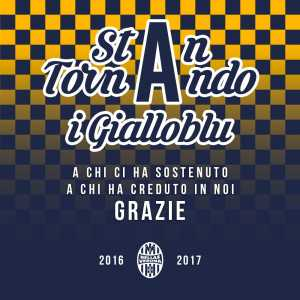 Hellas Verona are promoted to Serie A after a season in Serie B!