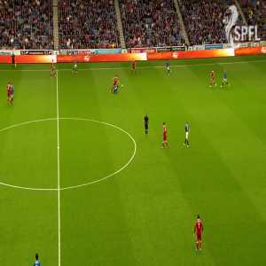 Smooth run and finish by Shinnie to put Aberdeen 0-1 up vs. Rangers last night