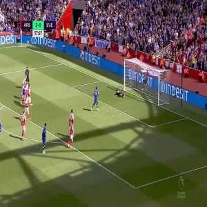 Arsenal 2-[1] Everton (Lukaku pen. 58')