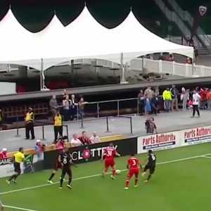 Bastian Schweinsteiger skill to shake off DC United defence