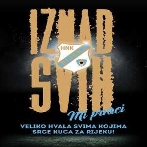 HNK Rijeka are Croatian league champions!