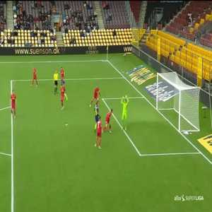 André Rømer controversial goal (Nordsjaelland 0-[3] Midtjylland)