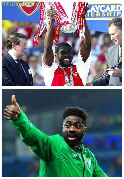 Celtic have finished the season unbeaten, meaning Kolo Toure is the first double invincible ever! Congrats, legend!