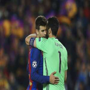 "Pique: ""It would be nice if Buffon won the Ballon d'Or. He has won the Scudetto, the Coppa Italia &he could still win the Champions League"""