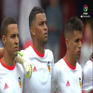 Roberto Soldado great strike in the first minute (Valencia 0-[1] Villarreal)