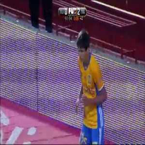 Tijuana 0-2(0-4) Tigres - Jürgen Damm 90'+2'