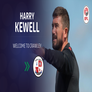 Crawley Town FC: The club are delighted to announce the appointment of Harry Kewell as our new Head Coach.